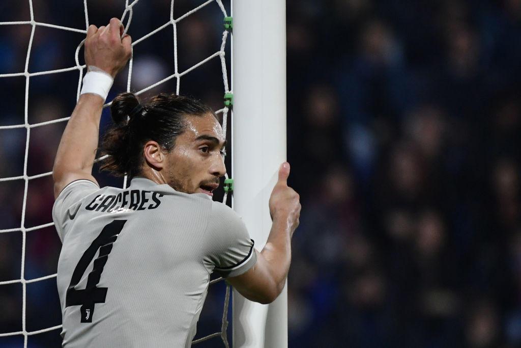 Martin Caceres in prestito dalla Lazio fino al 30 giugno, difficilmente verrà acquistato a titolo definitivo