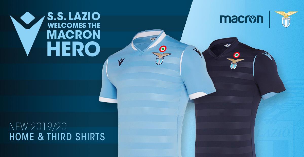 Maglia Lazio 2019/2020: la prima e la terza   Foto - Sportmediaset