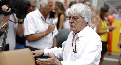"""F1, Ecclestone: """"Vendo tutto. Quando? Già quest'anno"""""""