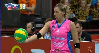 Volley, Champions donne: Piacenza cade in piedi