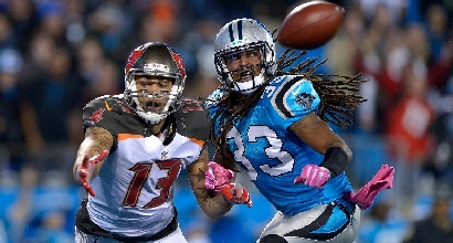 Nfl: Tampa Bay all'ultimo respiro, crisi Panthers