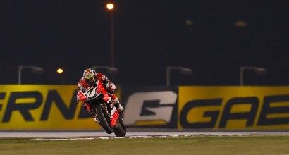 Superbike, round Qatar: fulmine Davies nelle seconde libere