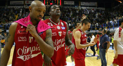 Basket, Serie A: Pesaro batte Olimpia, Cremona retrocede in Serie A2