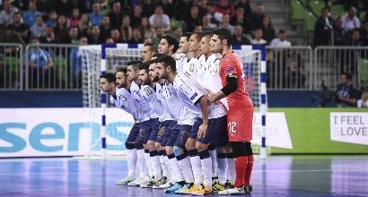 Calcio a 5, sprofondo azzurro:Italia eliminata dagli Europei