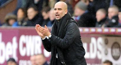 """City, Guardiola si nasconde: """"L'obiettivo è giungere almeno ai quarti"""""""