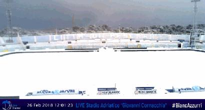 Serie B: rinviate quattro partite per neve