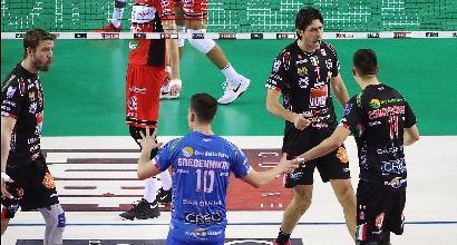 Volley, Superlega: Lube, Trentino e Modena conquistano gara 1