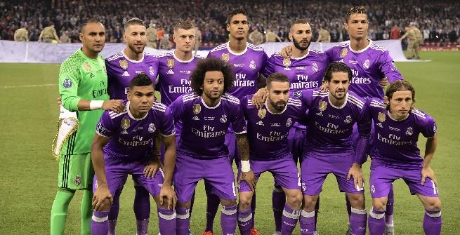 IL REAL MADRID A CARDIFF NEL 2017