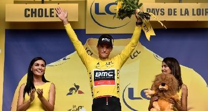 Tour de France: cronosquadre alla Bmc, Van Avermaet nuova maglia gialla
