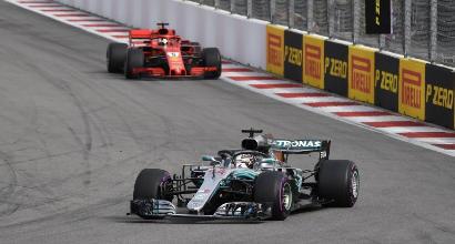 F1, Hamilton campione ad Austin se...