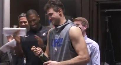 Nba, Clippers ai playoff: Gallinari apre la festa