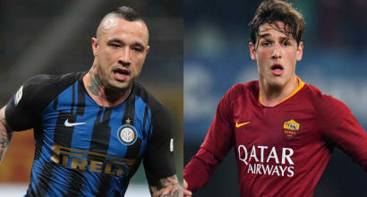 Inter-Roma, Nainggolan-Zaniolo è la sfida delle rivincite