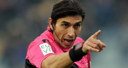 Coppa Italia: Milan-Lazio, arbitra Mazzoleni. C'è Calvarese per Atalanta-Fiorentina