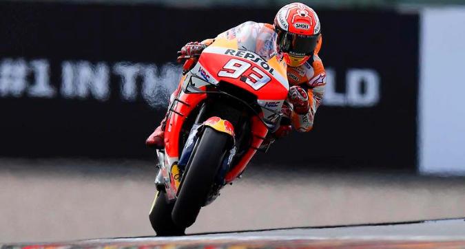 MotoGP, Marquez vola nelle Libere 3