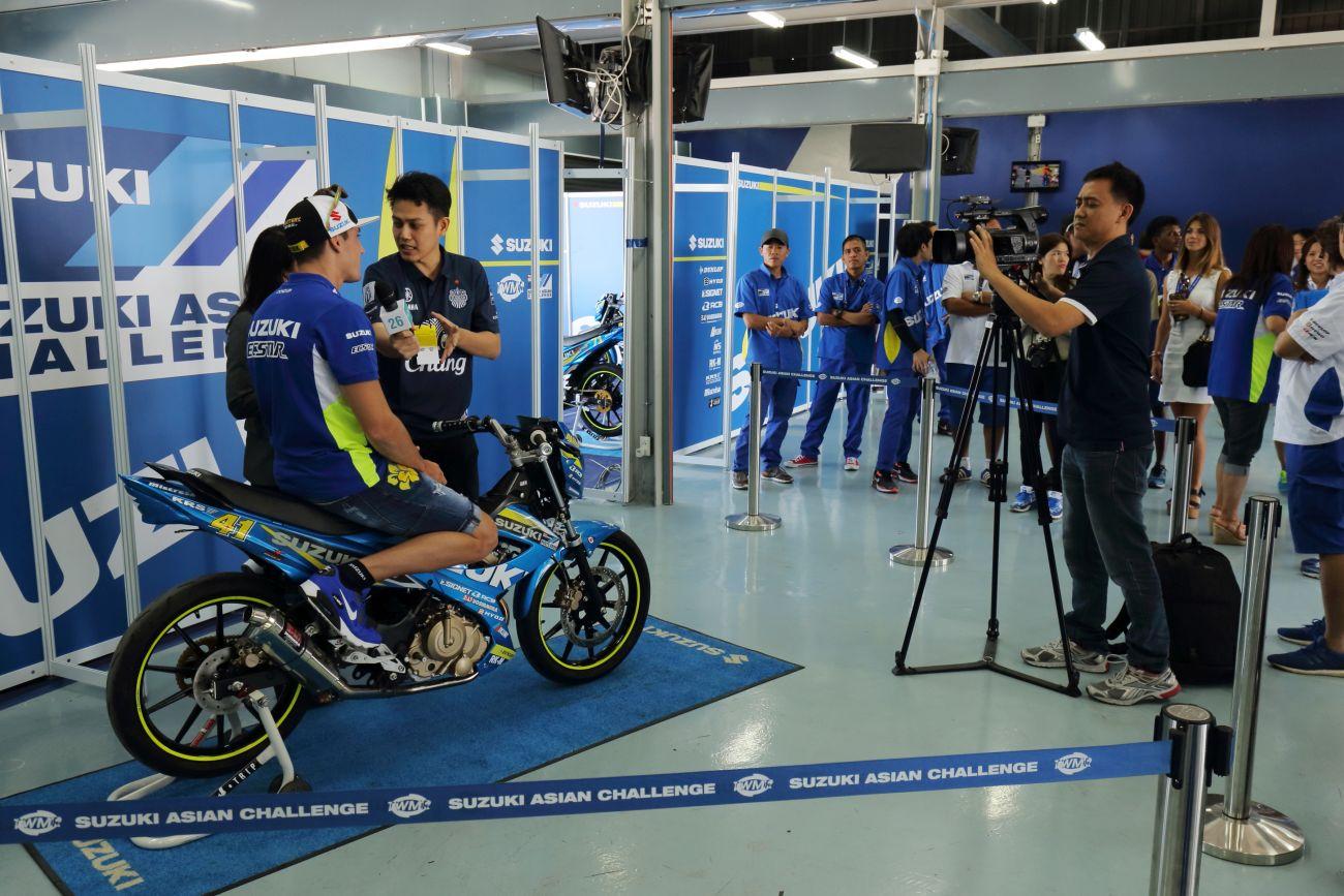 MotoGP, Aleix Espargaro al Suzuki Asian Challenge