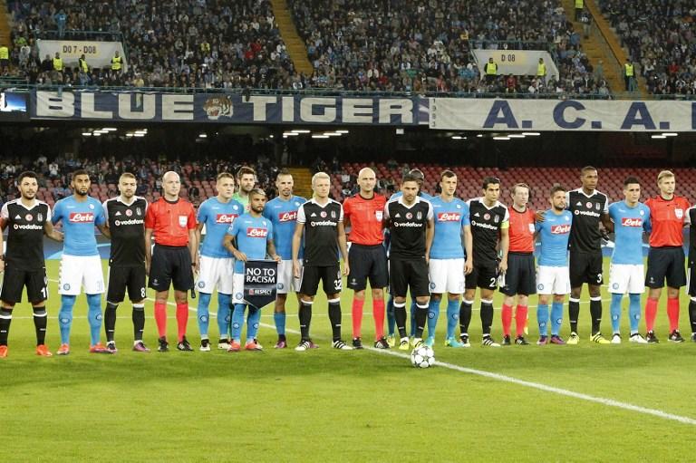 Champions: primo ko Napoli, festa Besiktas