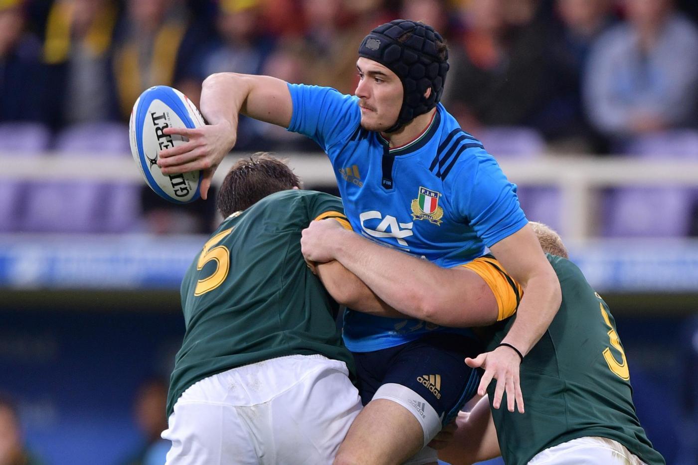 Rugby, storica Italia contro il Sudafrica