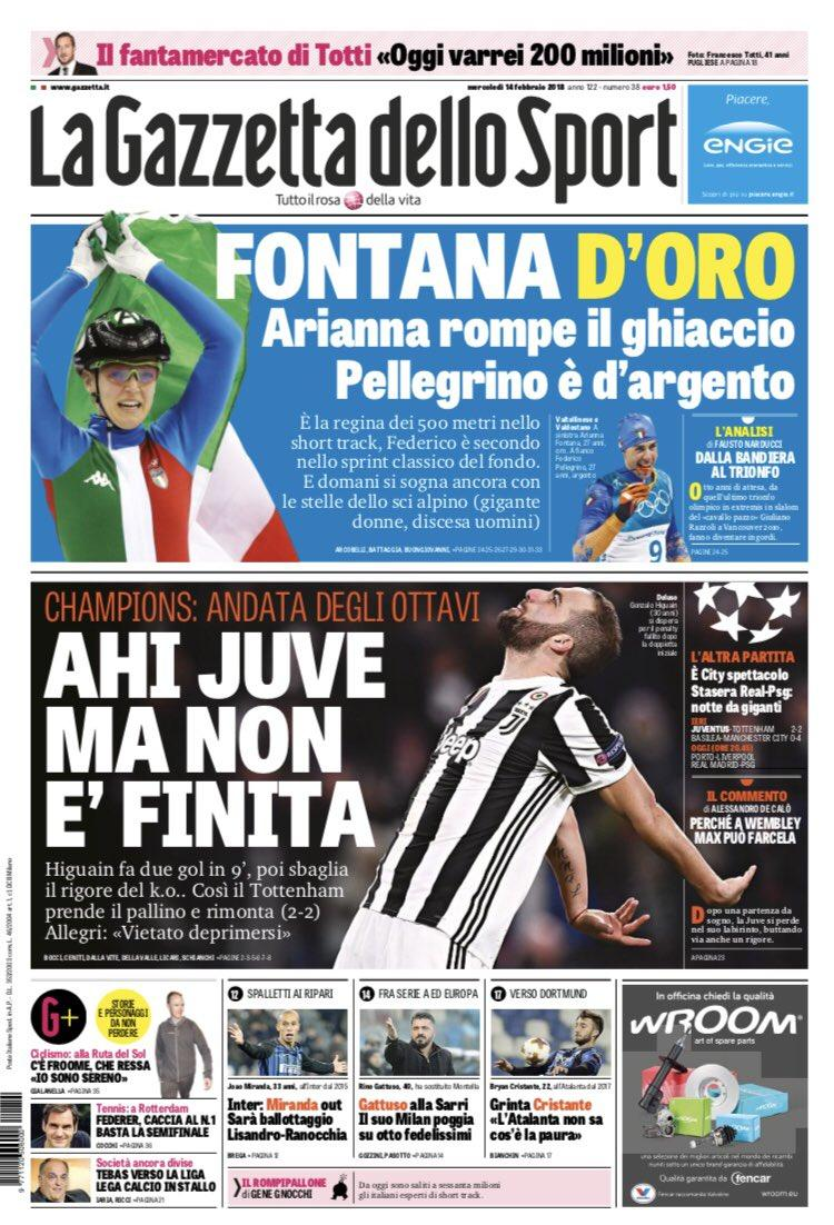 La rassegna stampa dei quotiadiani italiani ed esteri