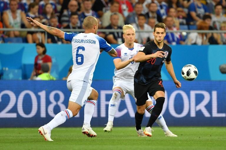 Mondiali 2018, le foto di Islanda-Croazia