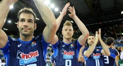 L'Italia va k.o., foto da federvolley.it