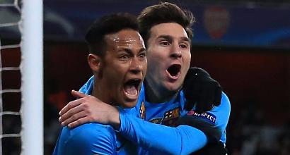 Neymar e Messi (LaPresse)