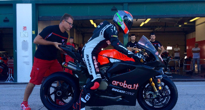 Melandri (Twitter Aruba Racing)