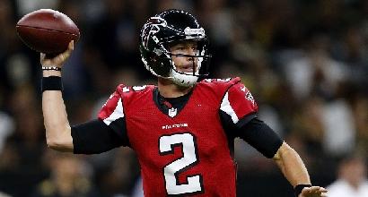 Nfl: i Falcons volano, New Orleans cade ancora