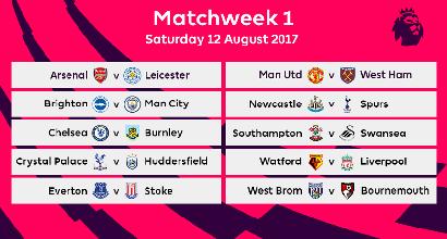 Manchester United Calendario.Premier League Ecco Il Calendario Br News Sportmediaset