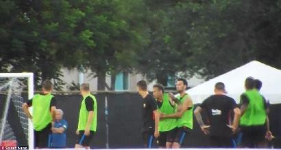 Alta tensione Neymar, litigio con Semedo
