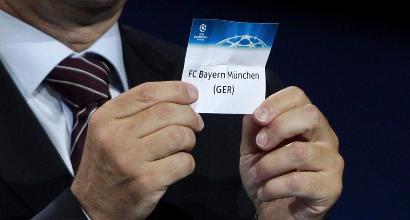 Champions League 2018: le fasce per il sorteggio dei gironi