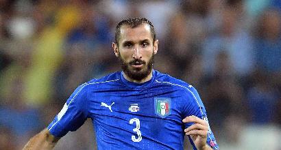 Italia, infortunio per Chiellini: lascerà il ritiro, il comunicato della Juventus