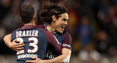 Ligue 1: il PSG stende il Monaco, tutto facile per il Lione