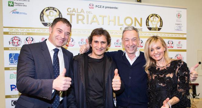 Gala del Triathlon, una festa con super ospiti
