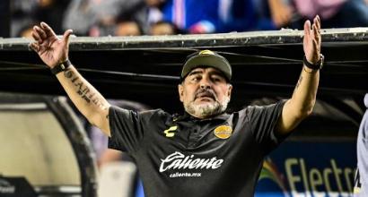 Messico, Maradona ko: va fuori dalla coppa e se la prende con l'arbitro