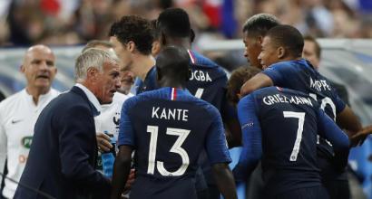 """Francia, Deschamps: """"E' stata dura con la Germania, vogliamo il primo posto"""""""
