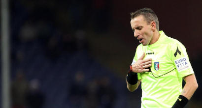 Serie A: Mazzoleni arbitrerà Milan-Juventus, Fabbri sarà il Var