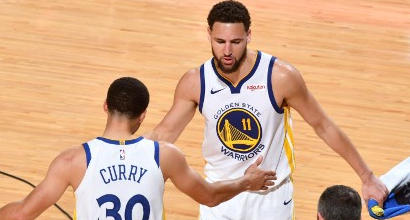 Nba: Golden State vince a Houston