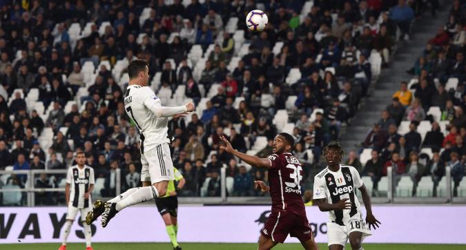 Serie A:CR7 salva la Juve nel derby
