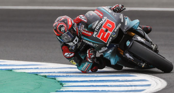 MotoGP, Quartararo in pole a Jerez