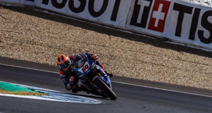 Superbike, gara-2 Jerez: vince van der Mark, Bautista cade al secondo giro