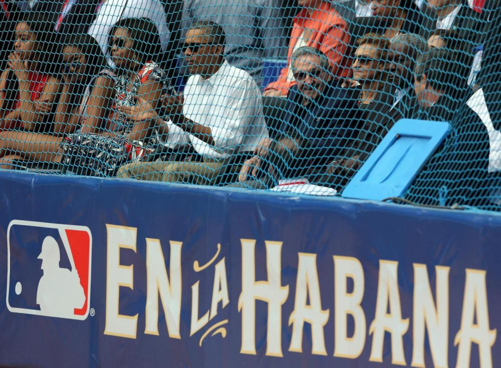 Baseball, Obama in tribuna per Cuba-Tampa Bay Rays