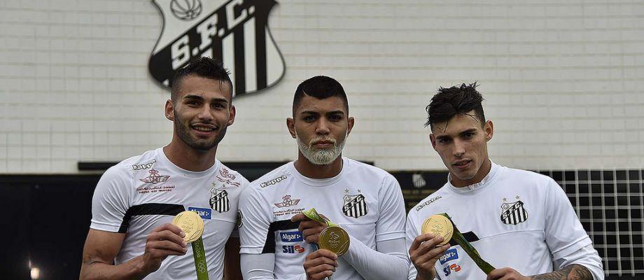Santos, Gabigol con la barba d'oro
