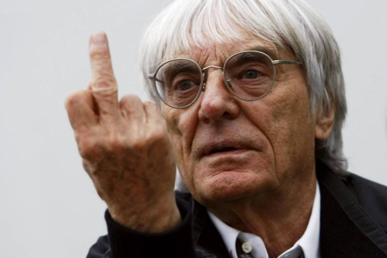 La F1 saluta Bernie Ecclestone