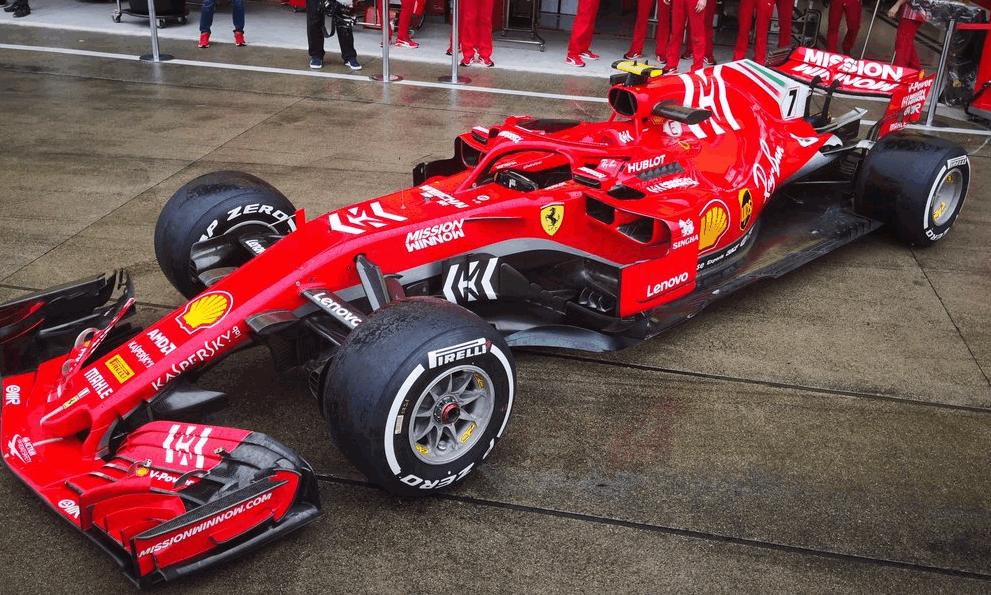 F1, nuova livrea Ferrari a Suzuka