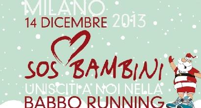 Babbo Running: Milano corre per beneficenza