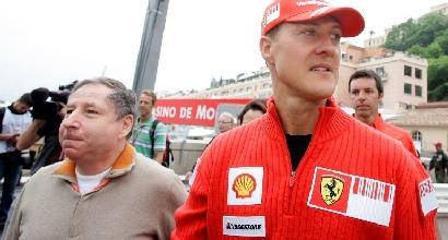 Schumacher e Todt (Afp)