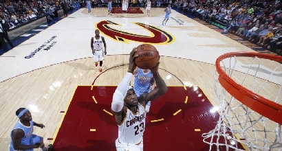 LeBron James, foto Afp