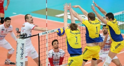 Volley, SuperLega: riscatto Trento, Verona demolita