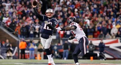 Nfl, playoff: Patriots e Falcons ok