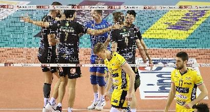 Volley, Champions: Lube alle Final Four, Modena si arrende